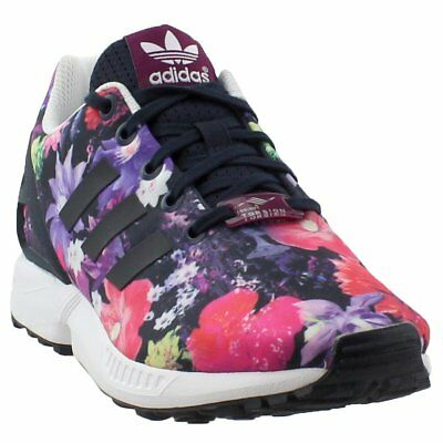 on sale 29b1c 7be38 ADIDAS ZX FLUX Kids Sneakers- Black;Pink- Girls