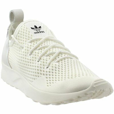 69a72a005 ADIDAS ZX FLUX Adv Virtue Em Sneakers- White- Womens -  34.96