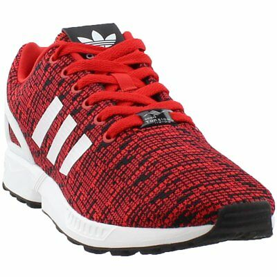 adidas ZX FLUX Sneakers- Red- Mens