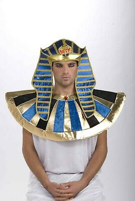 Adult Male Egyptian Headpiece Costume Accessory