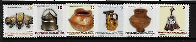 MACEDONIA Sc 287-92 NH issue of 2003 - Local Crafts