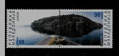 MACEDONIA Sc 216 NH issue of 2001 - Europa