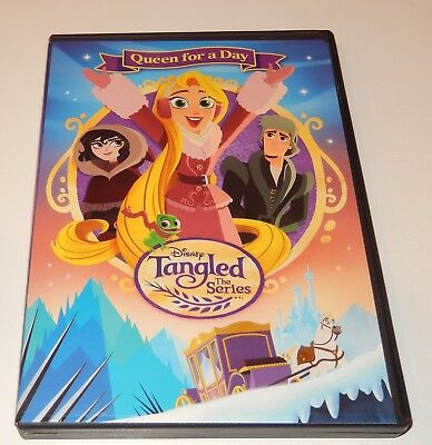 Tangled the Series: Queen for a Day (DVD, 2017) WS Disney