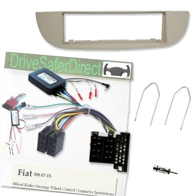 SWC-2054-cL Steering Control,Ivory Facia LEARNING for Joying Radio/Fiat 500