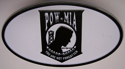 Trailer Hitch Cover Military POW MIA You Are Not Forgotten NEW