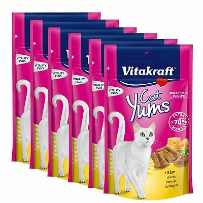 Vitakraft Snack pour Chats Miams Plus Fromage 9 X 40 G - Leckerli Friandise
