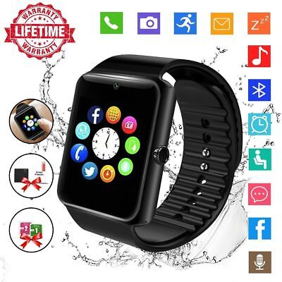 2 in 1 GT08 Bluetooth Smart Watch For Android iPhone iOS GSM GPRS SIM Kids Adult