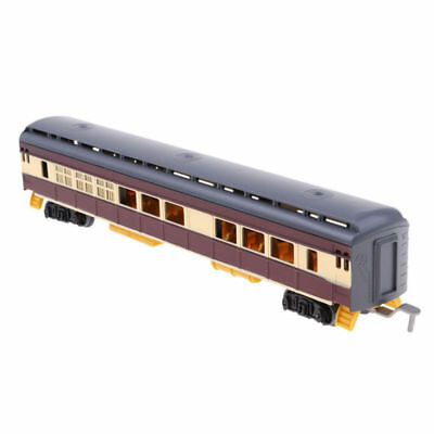 1:87 Scale Train Model Freight Car Railroad Car Train Carriages Kid Toy Newest