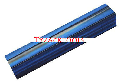 Tyzack Dark Blue with White Line Acrylic Pen Blank BS03-BL