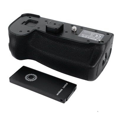 Vertical Battery Grip Holder + Remote For Panasonic LUMIX G9 DC-G9GK-K Camera