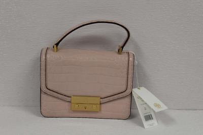 629af3eb7a7 TORY BURCH JULIETTE Embossed Mini Top Handle Satchel Clay Pink 44342 ...