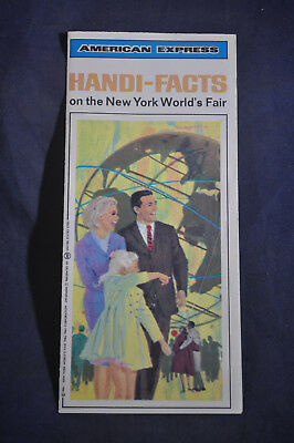 1964 American Express Hand Facts on the New York Worlds Fair