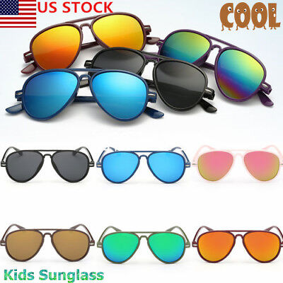 Vintage Round Sunglasses For Boys Girls Kids Child Toddler Baby Driving Case