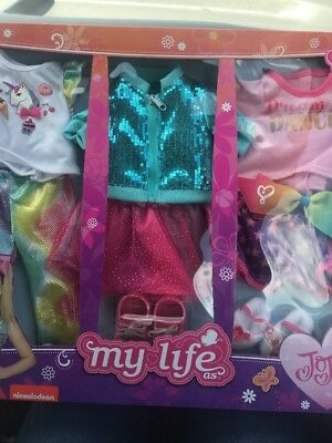 My Life As Jojo Siwa Outfits 2018 9 pieces 3 complete outfits Unboxed