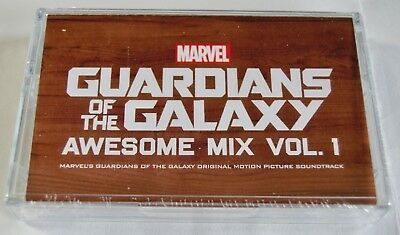 Guardians Of The Galaxy Awesome Mix Vol 1 - NEW Sealed Cassette Tape !