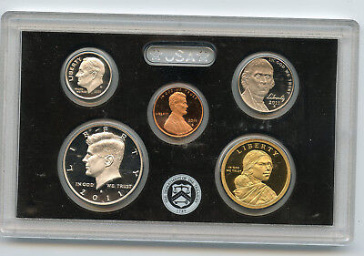 2011 United States Mint Silver Proof Set 14 Piece with Box and COA