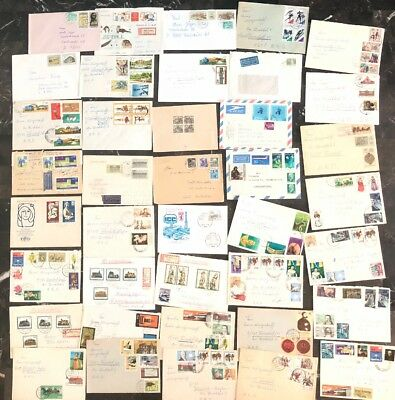 East DDR Germany Airmails First Day Cover FDC Etc Collection Lot