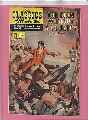 Classics Illustrated #63 Man Without A Country HRN167
