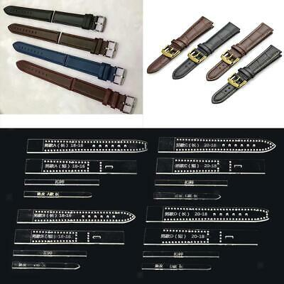4pcs 20-18mm 18-16mm DIY Watch Strap Band Leather Craft Acrylic Template Stencil
