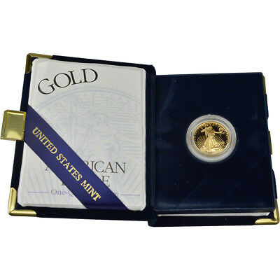 2000-W American Gold Eagle Proof (1/4 oz) $10 in OGP