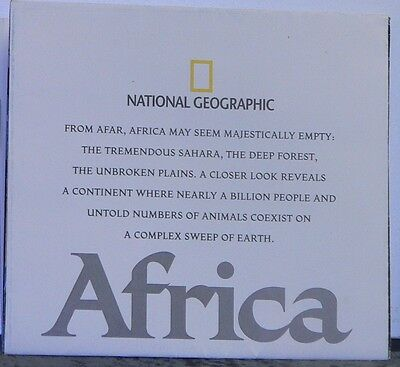 2005 National Geographic Map of Africa: A Storied Landscape