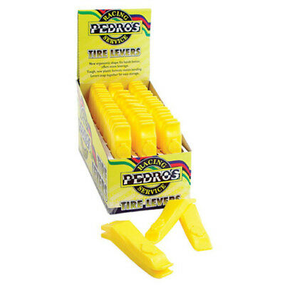 Pedro's Tire Levers 24-Pack Yellow