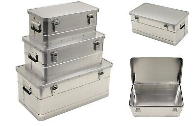 Aluminum Box Aluminium Box Box Transport Box Storage Chest Transport Box Silver