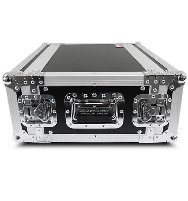 "GALAXY 4U ATA Touring Effects Rack Flight Case 4 Space 14"" Deep"