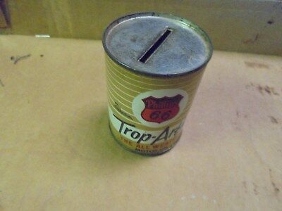 Vintage Phillips 66 Trop Arctic Oil Can Bank