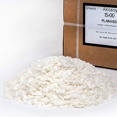 100% Soy Wax Flakes - 50 LB - For Candle Making Supplies - Also Cosmetic...