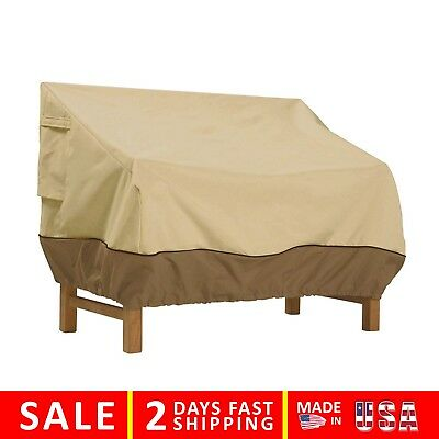Patio Furniture Cover Waterproof Outdoor Bench Seat Veranda Loveseat Sofa Small