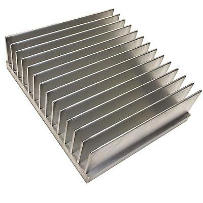 Large Aluminium Heat Sink Transitor MOSFET IC TO3 TO220 TO247 96x111x33mm
