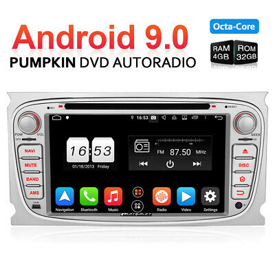 Android 8.0 Für FORD Focus Mondeo RAM 4GB Autoradio DVD GPS DAB+ WIFI Navigation