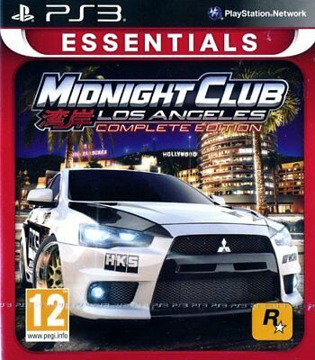 PS3 Spiel Midnight Club Los Angeles Complete Edition NEUWARE