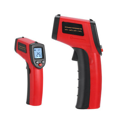 Accurate Red LCD Temperature Thermometer Laser Non-Contact Infrared Gun Tester