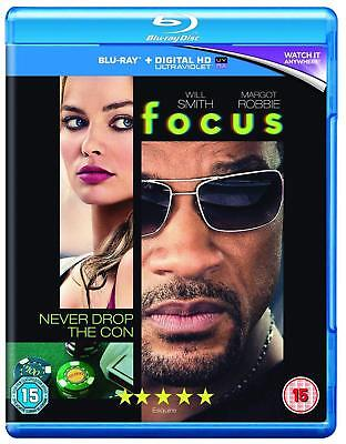 Focus [Blu-ray] [2015] [Region Free]         Brand new and sealed
