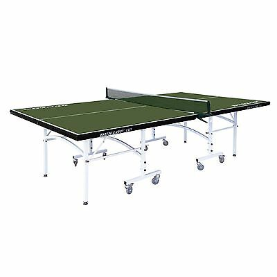 Dunlop TTi1 Full Size Adjustable Folding Indoor Ping Pong Table Tennis Table