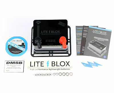 Liteblox Autobatterie LB13xx 4. Generation High-Performance-Akkumulator Lithium