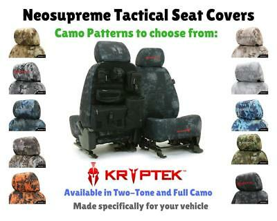 KRYPTEK TACTICAL CUSTOM FIT SEAT COVERS - NEOSUPREME for NISSAN LEAF