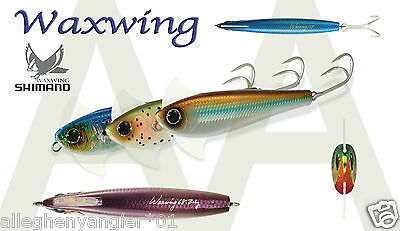 """Shimano Waxwing Jigs 4.6/"""" 1.5oz Saltwater Lures FREE SHIPPING WITHIN US"""