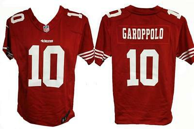 New Jimmy Garoppolo #10 49ers YOUTH Size L Large 14/16 Red Nike Jersey $70