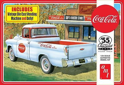 1955 Chevy Cameo Pick Up (Coca-Cola) 1/25 scale AMT plastic model kit#1094