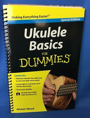 Ukulele Basics For Dummies Learning HOW TO BOOK CD INSTRUCTIONS Special edition