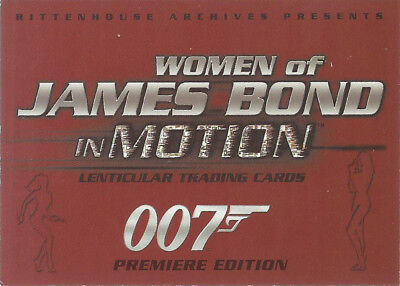 2003 Rittenhouse Archives The Women of James Bond: In Motion Promo Card #P2