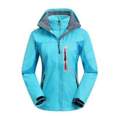 E101 Women Lady Blue Ski Snow Snowboard Winter Waterproof Jacket 6 8 10 12  14 75182c699