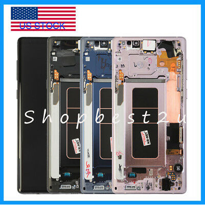For Samsung Galaxy Note 9 N960U LCD Screen Touch Digitizer + Frame Replacement