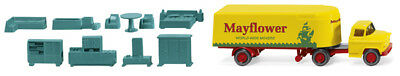 "Wiking 052102 Semi-Trailer Truck (Chevrolet) "" Mayflower "", Car Model 1:87 (H0)"