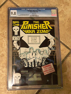 THE PUNISHER WAR ZONE #12 cgc 9.8 1993 Series