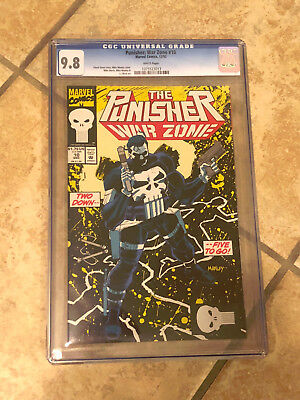 THE PUNISHER WAR ZONE #10 cgc 9.8 1993 Series