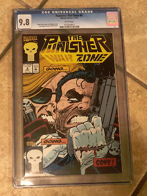 THE PUNISHER WAR ZONE #9 cgc 9.8 1993 Series
